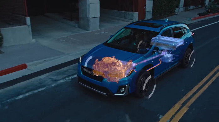 2019 Subaru Crosstrek Hybrid SUV Feature