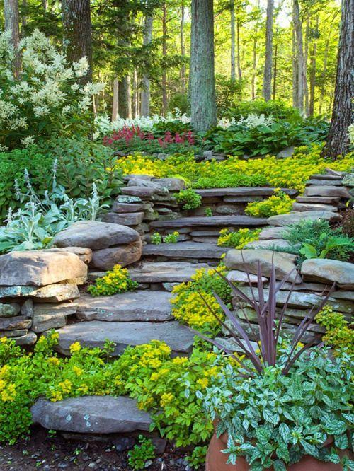 escalier en pierre