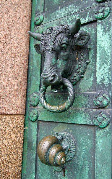 heurtoir taureau