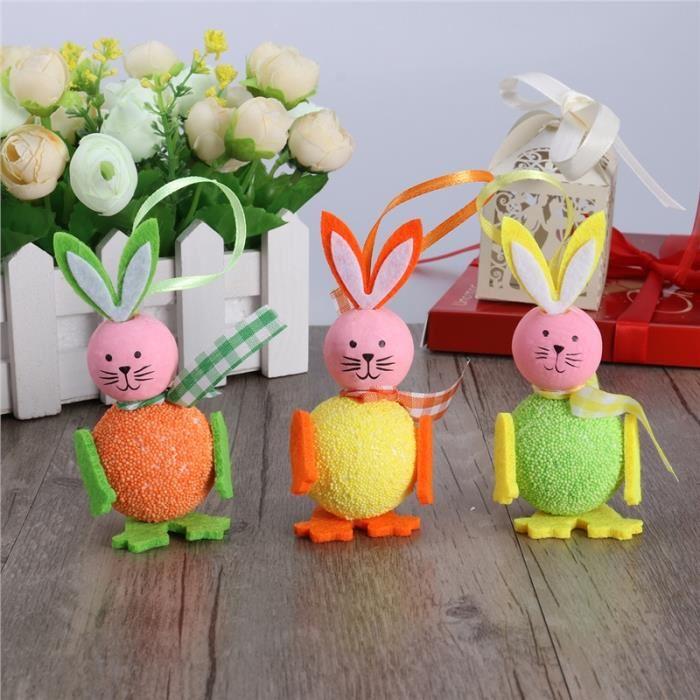 3pcs-mignon-mousse-lapin-decoration-hang