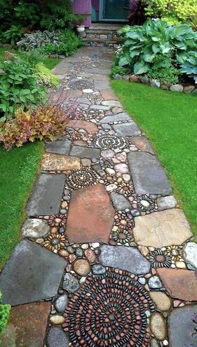 allee de jardin pierre et caillou