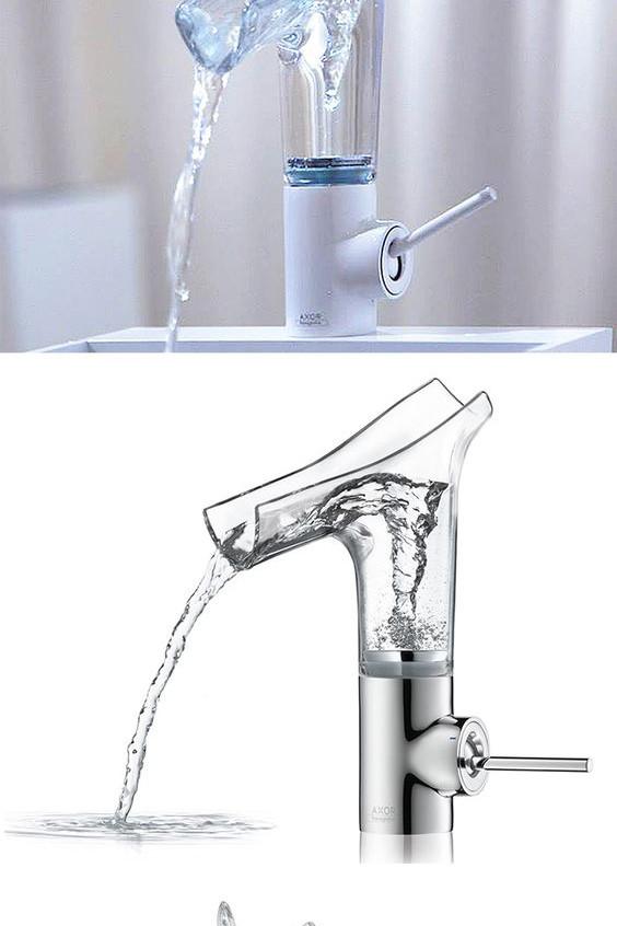 robinet transparent