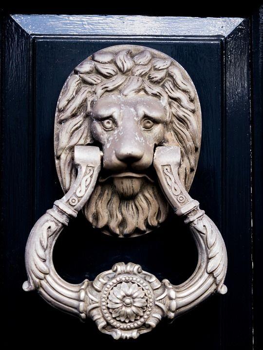 heurtoir lion