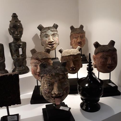 sculpture de tête