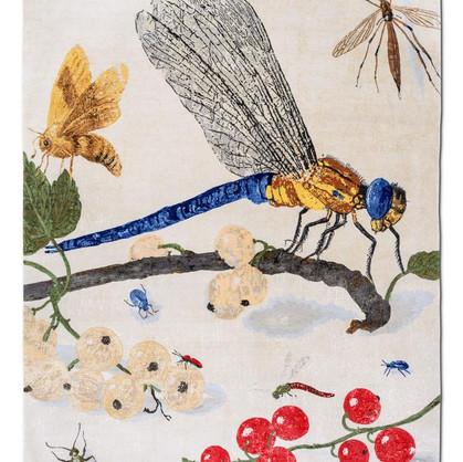 tapis original libellule