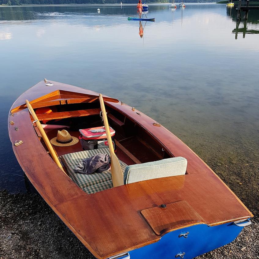 un petit tour de bateau