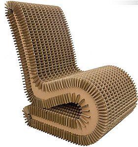 fauteuil en carton 1
