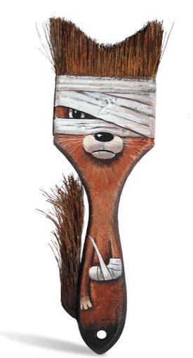 pinceau renard