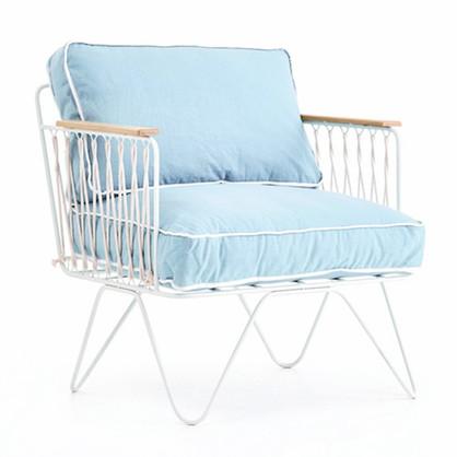 fauteuil-croisette-coton-bleu-ciel-fer-blanc
