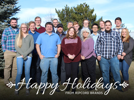 Happy Holidays from all of us at Ripcord Brands!