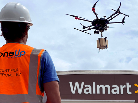Walmart invests in DroneUp for scalable last-mile delivery