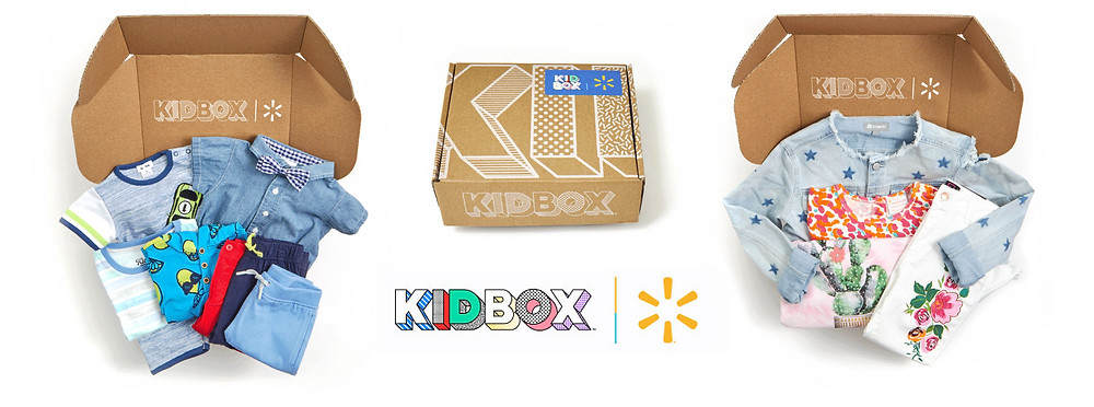 Walmart-Kidbox subscription box for kids apparel