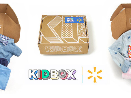 Walmart partners with KIDBOX to launch clothing subscription box for kids