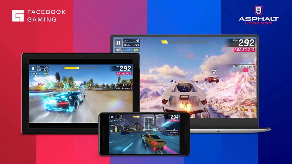 picture of facebook gaming screens