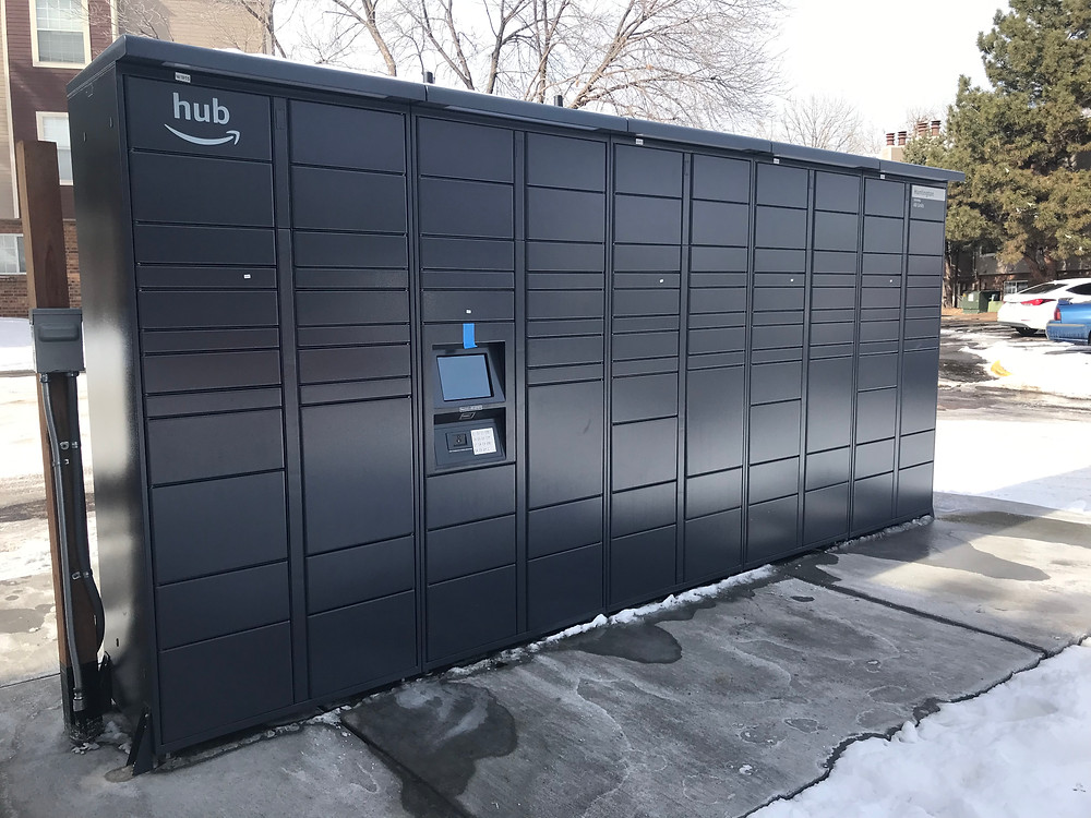 Amazon lockers near Denver