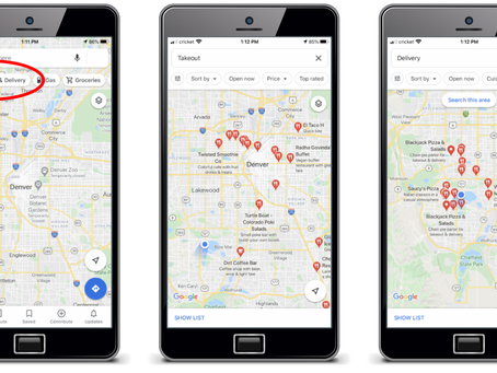 Google Maps just made it easier to find takeout and delivery from restaurants near you