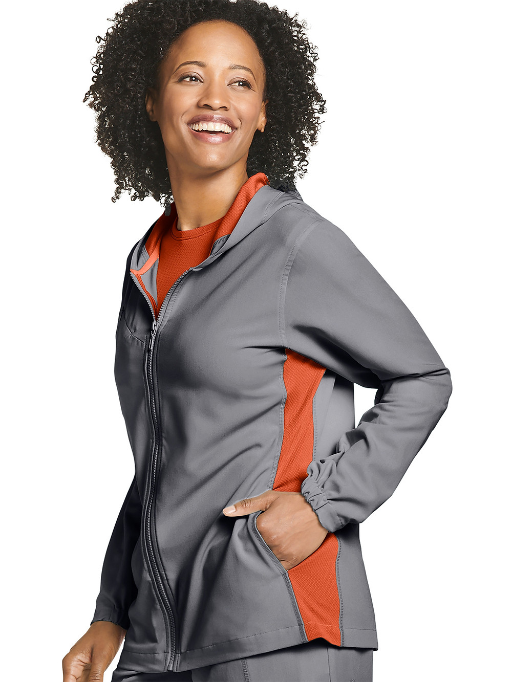 jockey retro relay scrub jacket