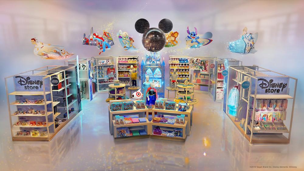 Disney at Target store