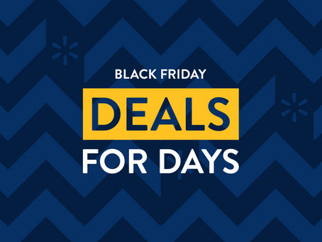 Walmart is splitting Black Friday into 3 events this year