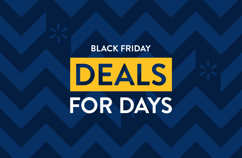 walmart's black friday deals for days