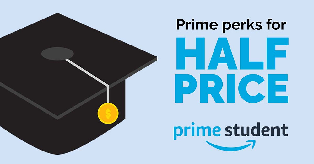 Get Amazon Prime for half price with Prime Student