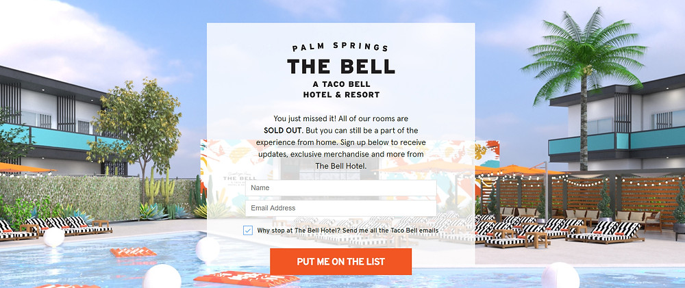 The Bell: A Taco Bell Hotel & Resort