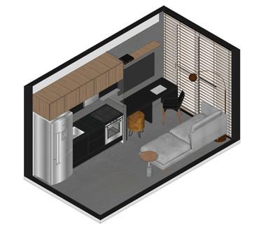 Apartamento do homem solteiro - São Paulo SP - 2021