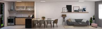 Sala e cozinha - SP - 2020