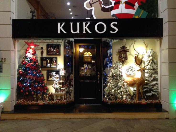 Vitrine da loja Kukos em Gramado, RS. Parece Brasil?