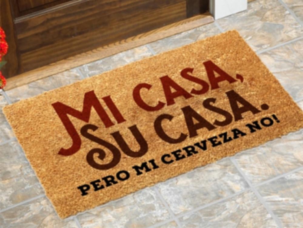 Capacho Beer Happy Mi Casa. R$79,90