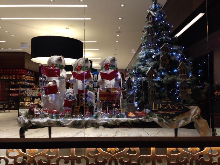 Vitrine da loja Chocolates Lugano - Gramado RS