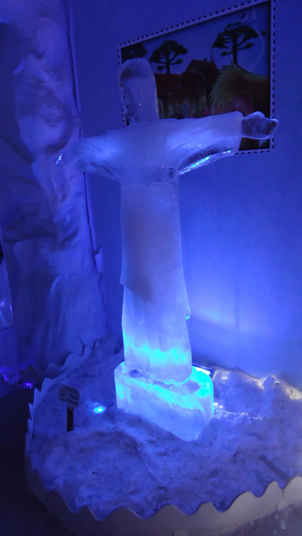 O cristo de gelo
