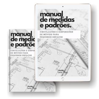 E-book: Manual de Medidas e Padrões