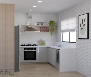 Cozinha integrada - Pelotas RS - 2020