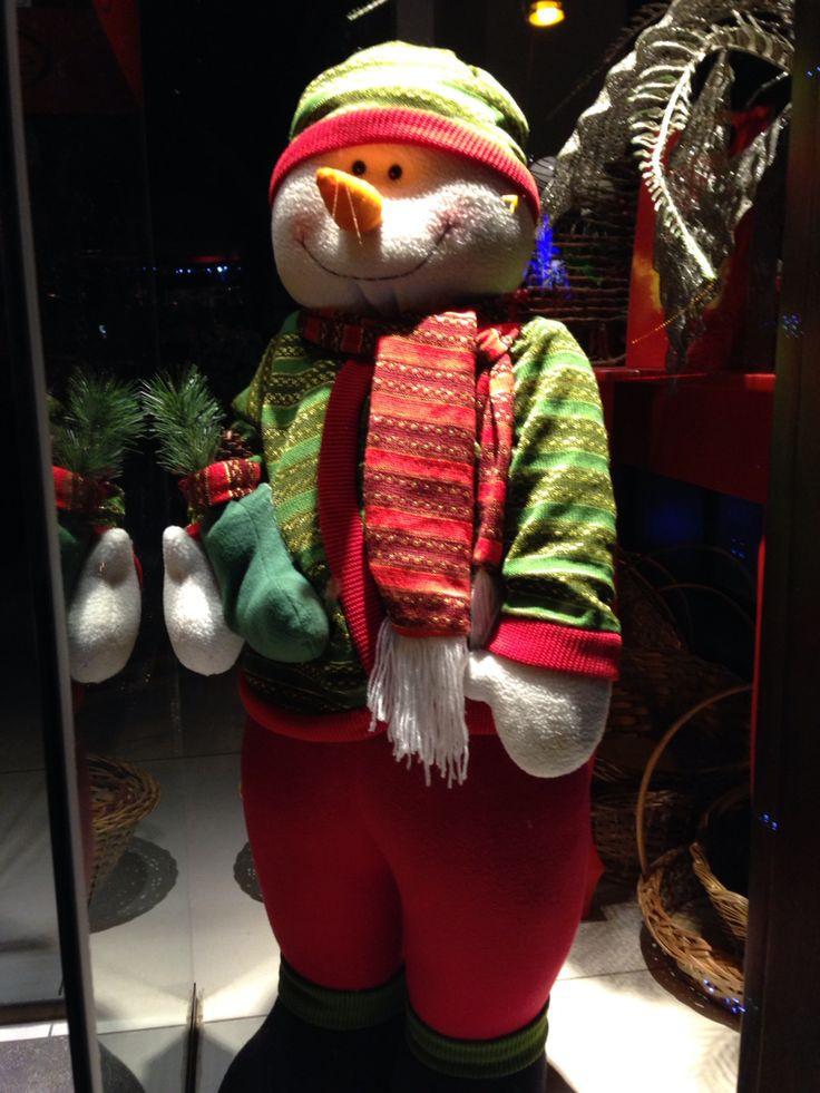 Boneco de neve muito fofo!