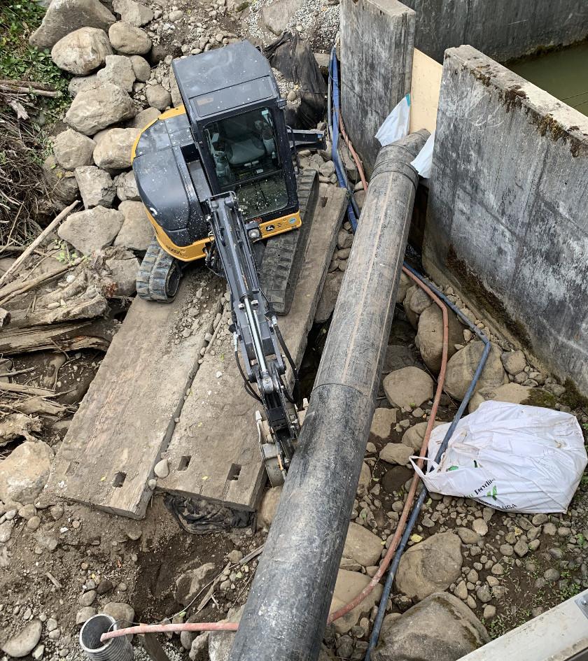 Coal Creek Roughened Channel Repair