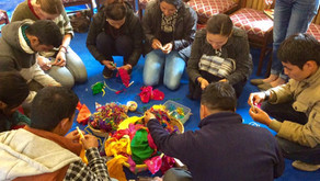 Training the Trainers: Art-based psychosocial training for children and young people