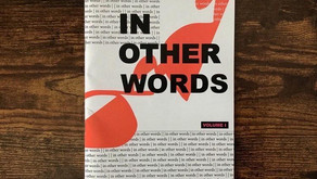 """""""IN OTHER WORDS"""" - POETRY OF HOPE"""
