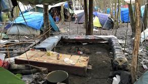 Dunkirk: displaced people creating spaces
