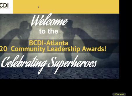 2020 BCDI-Atlanta Community Leadership Awards Recap