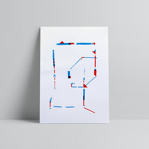 Balancing Act - A3 Print