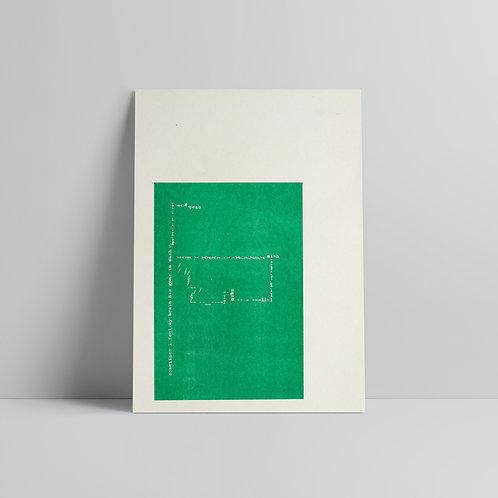 Brain to Mushy Peas - A3 Print