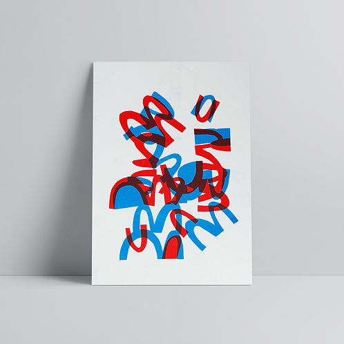 SOLD OUT - MNMNM - A3 Print