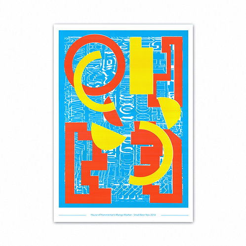Mango Masher A2 Screen Print