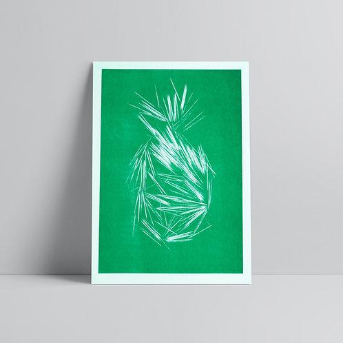 Pineapple - A3 Print