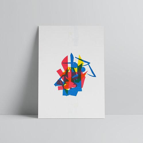 101 Things - A3 Print