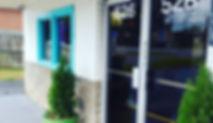 Front door of Harper's Seafood in Thomasville, GA. Fresh Market
