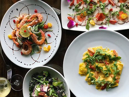 Salerno serves delicious fresh Italian seafood dishes in Laguna Beach.