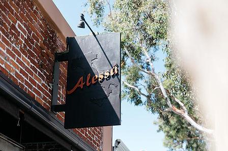 Alessa features charming brick walls