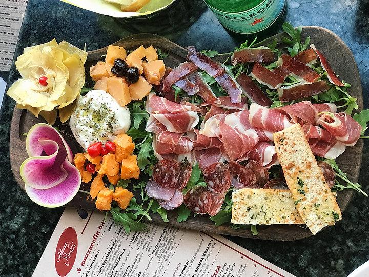 Salerno serves fresh prosciutto in Orange County